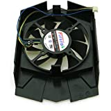 Replacement Video Card Cooling Fan For GTX750TI Graphics Card Fan FD8015U12S 12V 0.5A 75mm 4 Pin