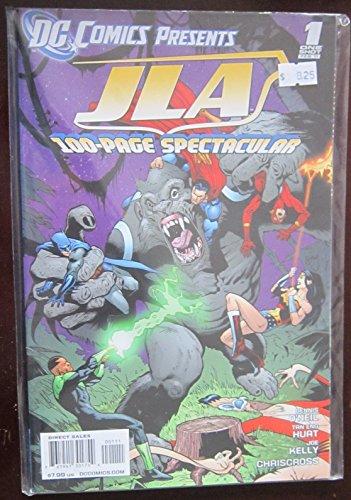 DC Comics Presents JLA 100-Page Spectacular #1, February 2011