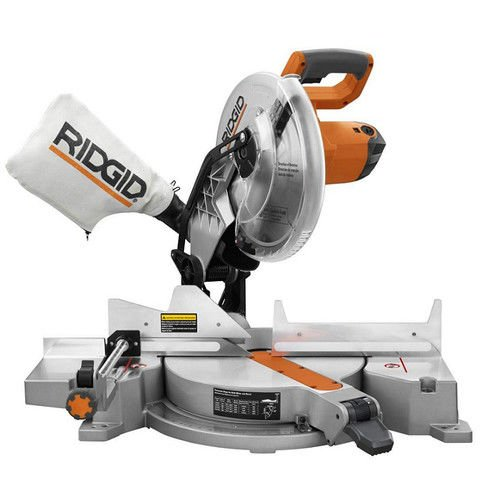 Ridgid ZRR4120 15 Amp 12 in. Compound Miter Saw With Exactline Adjustable Laser (Certified Refurbished)