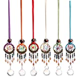 H&D Dream Catcher Crystal Ball Prisms Hanging Rainbow Maker Drops Pendants (6 sets)
