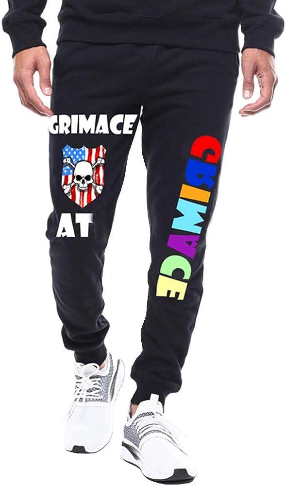 VPASS Pantalones Hombre, Chándal de Hombres Impresión Pantalones ...