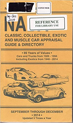 NADA Classic, Collectible, Exotic and Muscle Car Appraisal