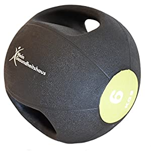 Medizinball mit 2 Griffen 6kg