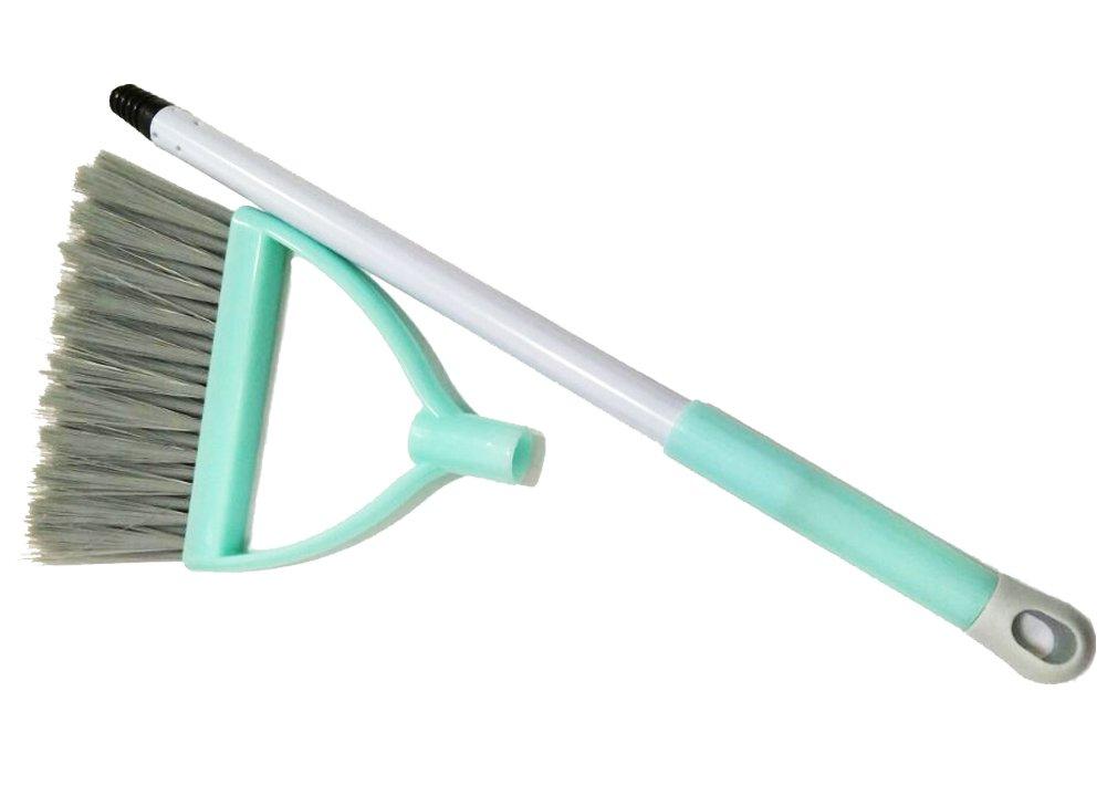 Xifan Mini Broom With Dustpan For Kids,Little Housekeeping Helper Set (Light Blue) by Xifan (Image #4)