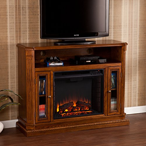 "Used, Southern Enterprises Atkinson Media Fireplace 47"" Wide, for sale  Delivered anywhere in USA"