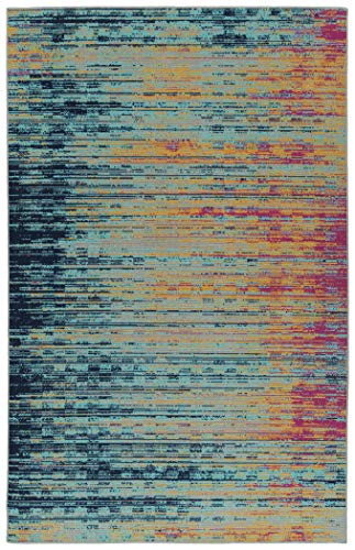 Kaleen 2' x 3' Area Rug in Multi-Color, Indoor/Outdoor for sale  Delivered anywhere in USA