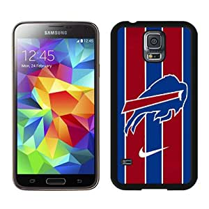 Buffalo Bills 01 Black Case Cover for Samsung Galaxy S5 i9600 Grace and Cool Design