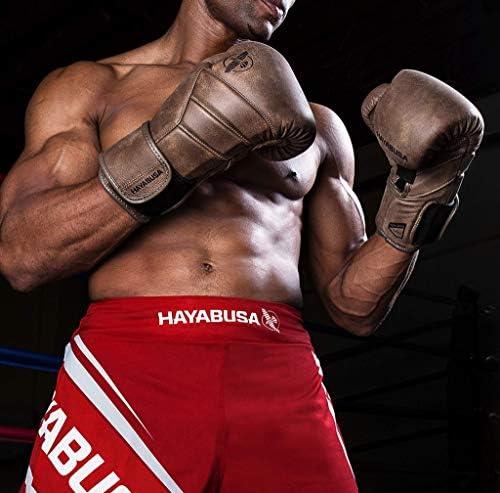 Hayabusa T3 Kanpeki - Guantes de boxeo (piel), 14 oz, Marrón: Amazon.es: Deportes y aire libre