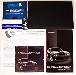 2010 dodge challenger srt8 owners manual kit dvd guide portfolio pkg rh amazon com 2010 dodge challenger srt owner's manual 2010 dodge challenger srt8 repair manual