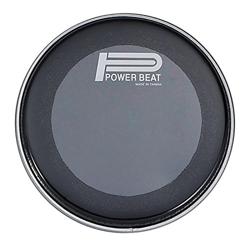8.75'' Power Beat Drum Drum Head Double Oily Collar /0.5''- For Darbuka/Doumbek (Black) by Power Beat