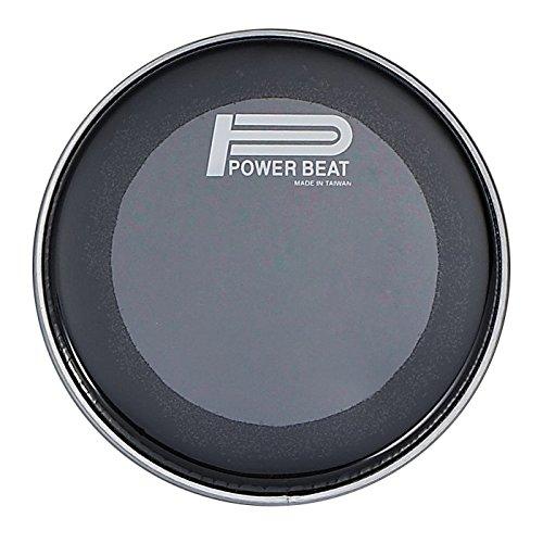 8.75'' Power Beat Drum Drum Head Double Oily Collar /0.5''- For Darbuka/Doumbek (Black)