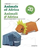 3D Paper Craft Animals of Africa