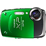 Fujifilm FinePix XP30 14 MP Waterproof Digital Camera with Fujinon 5x Optical Zoom Lens and GPS Geo-Tagging Function (Green)