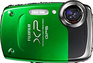 Fujifilm FinePix XP30 14 MP Waterproof Digital Camera with Fujinon 5x Optical Zoom Lens and GPS Geo-Tagging Function (Green)