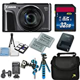 Canon PowerShot SX720 HS Digital Camera with 40x Optical Zoom + Accessory Bundle - International Model