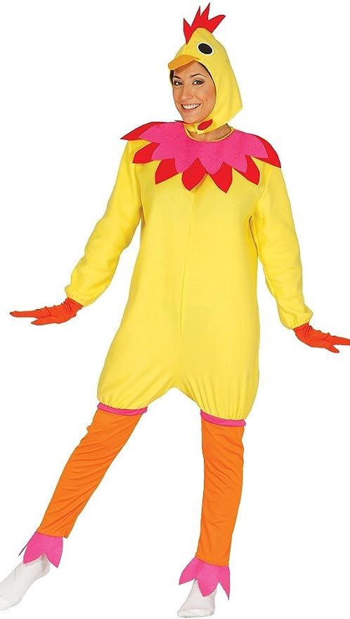 FIESTAS GUIRCA Disfraz de gallina Mujer Hombre: Amazon.es ...