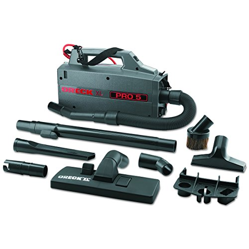 Oreck Commercial BB900DGR XL Pro 5 Super Compact Canister Vacuum, 30' Power - Outlets Place Lighthouse