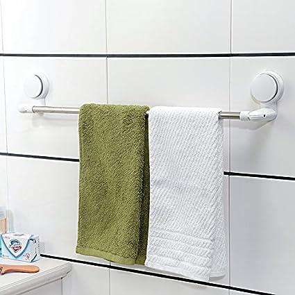 Daadi Ventosa toallero única Palanca de perforación de Tipo succión de baño y Toalla toalleros Perchas