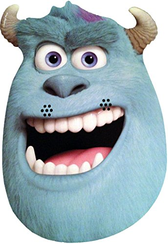 Monsters Inc Hard Hat (Monsters University - Sulley - Card Face Mask - Licensed Product)