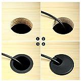 Bememo 10 Pieces 2 Inch Cord Grommet Adjustable