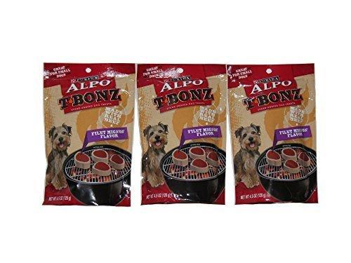 (Purina Alpo T Bonz Filet Mignon Flavor 4.5 Oz (3 Pack))