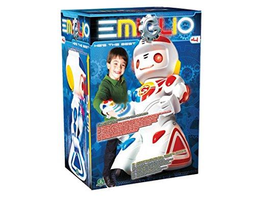 Emiglio Remote Controlled Robot Reviewmyrobot Com