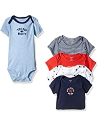 Carter's Baby Boys 5-Pack Tiny But Mighty Bodysuits