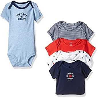 Carter's Baby Boys' Pk Bodysuits 126g402, Multi Sports, 3 Months