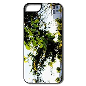 IPhone 5S Cases, Comfort Green Cases For IPhone 5 5S - White/black Hard Plastic