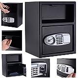 MasterPanel - Digital Safe Box Depository Drop Deposit Front Load Cash Vault Lock Home #TP3281