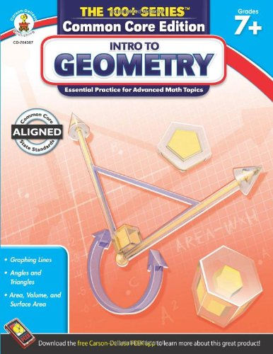Intro to Geometry, Grades 7 - 8 (The 100+ Series™)