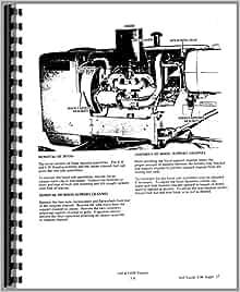 allis chalmers forklift service manual