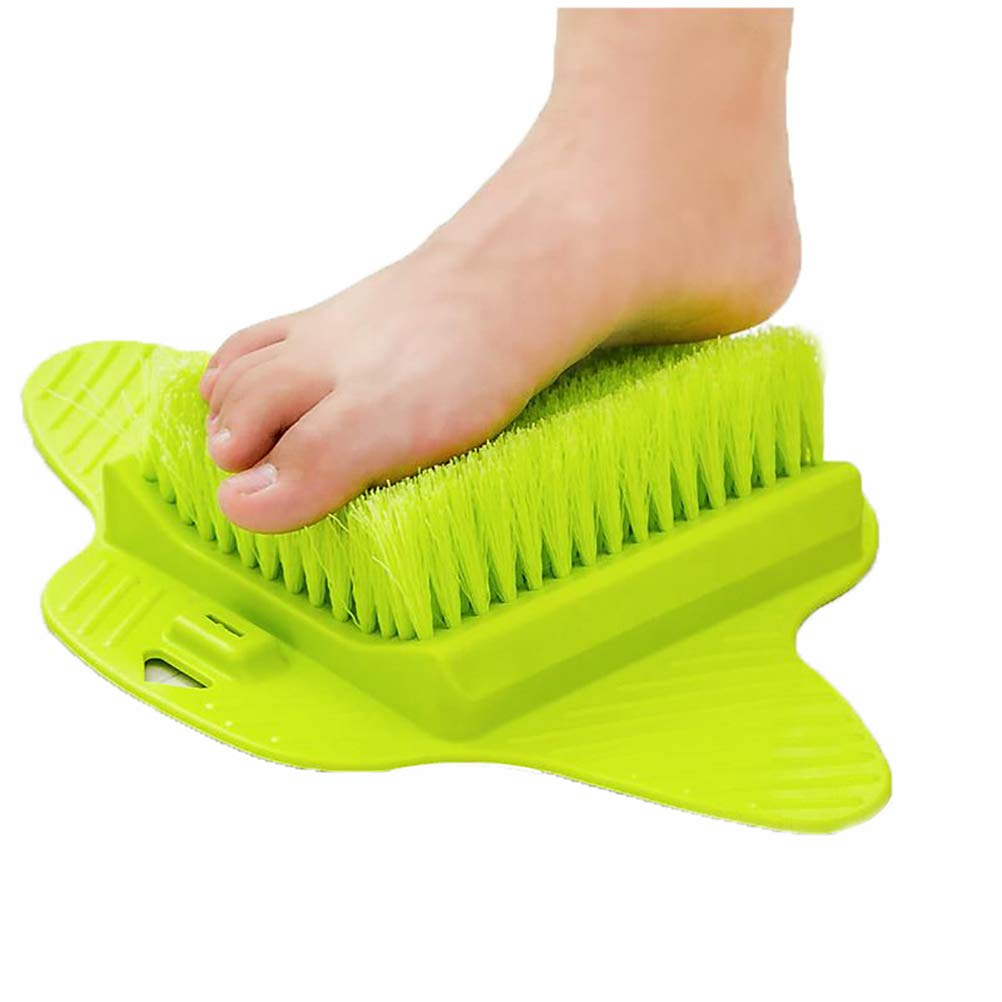 Hegufeng Foot Scrub Brush-Feet Scrubber Washer -Callus Remover and Foot Massage