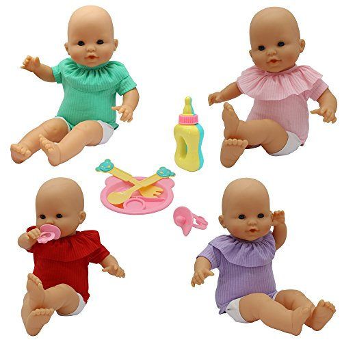 9 PCS Baby Alive Doll Clothes & Accessories with Jumpsuits,