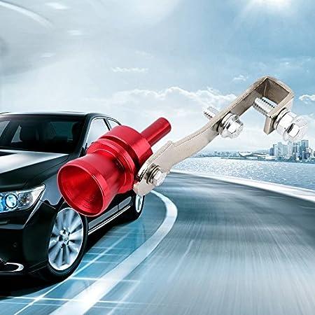 Baynne Universal Car Turbo Sound Whistle Simulator Sound Pipe Exhaust Muffler Pipe