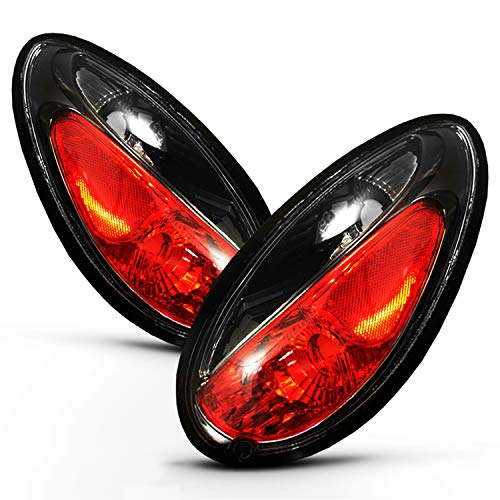- For 2001-2005 Chryslet PT Cruiser Black Tail Light Brake Lamps Assembly Replacement Pair