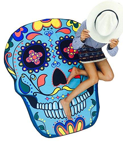 Futurino - Camisola - para mujer Cráneo