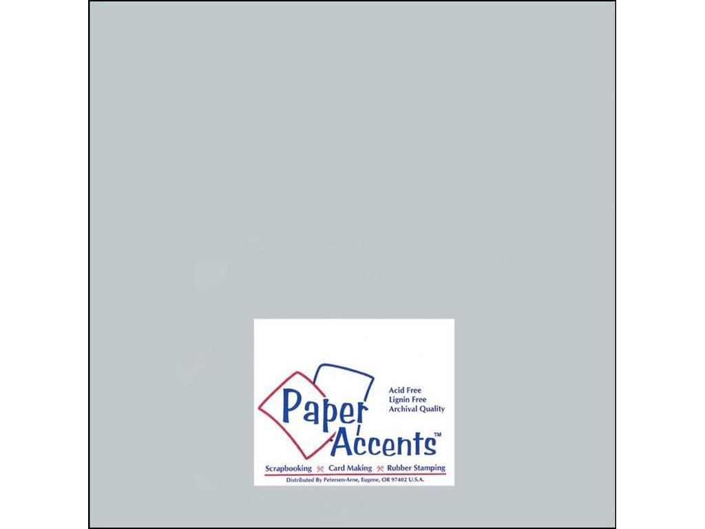 アクセントデザイン ペーパーアクセント パール色 カードストック 121212スレート Cdstk パール色 12x12 92# スレート B0018N9I2Y