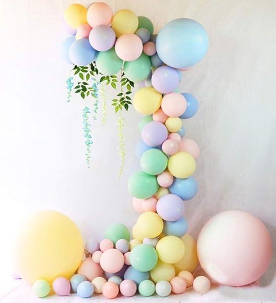 5pcs 18inch Big Large Pastel Candy Macaron Pastel Helium Balloon Sydney Wedding
