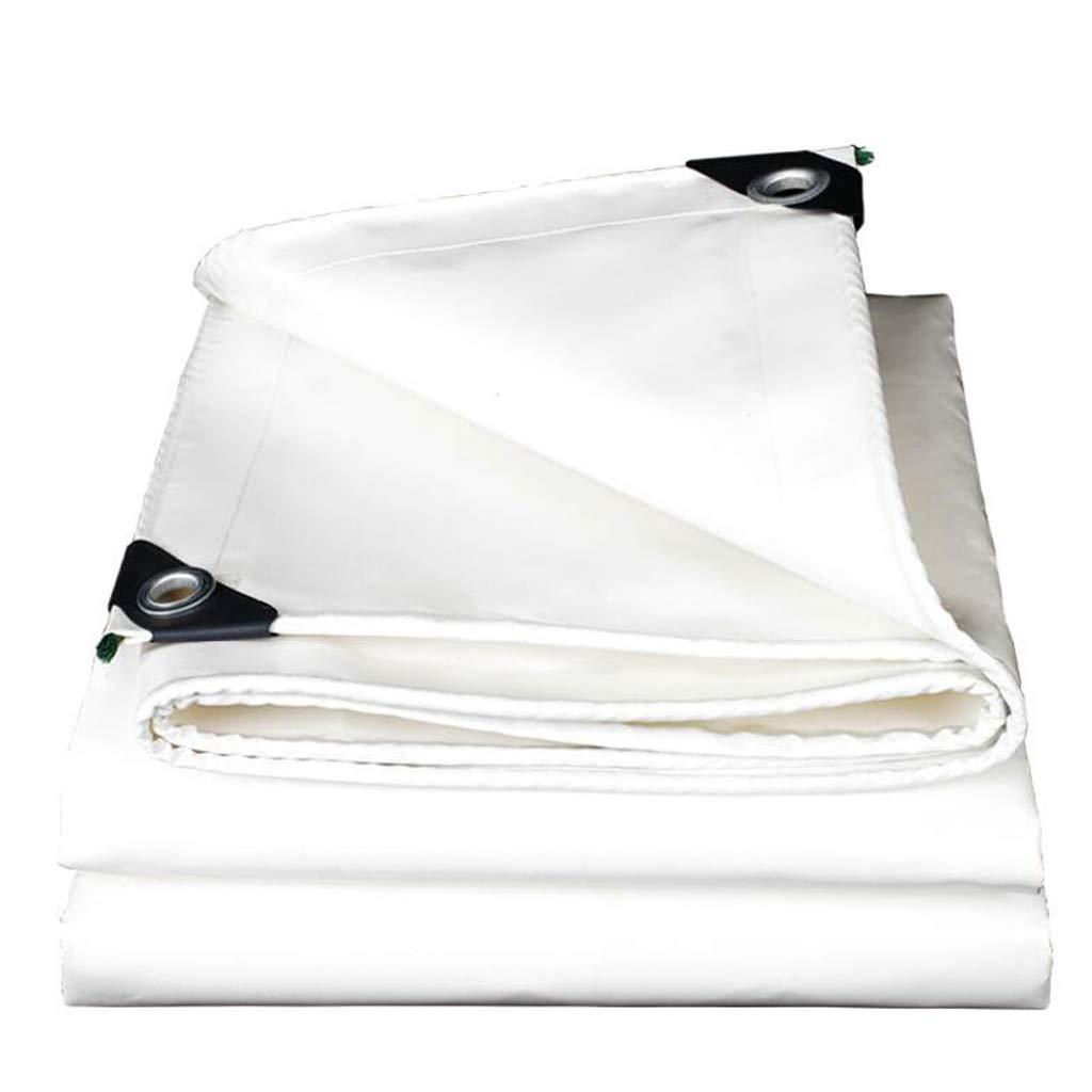 Plane Dickes weißes Messer Scraping Tuch im Freien Sun Protection Regen Tuch Wasserdichte Isolierung Oxford Canvas Sonnenschirm Baldachin Lostgaming