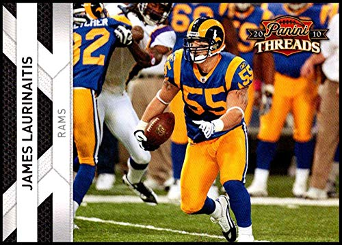 2010 Panini Threads #136 James Laurinaitis NM-MT St. Louis Rams Official NFL Football Card ()