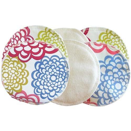 itzy-ritzy-glitzy-gals-washable-nursing-pads-set-gg1008-fresh-bloom