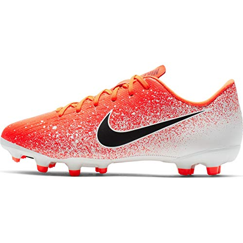 (Nike Youth Mercurial Vapor XII Academy Multi Ground Soccer Cleats (1.5 Little Kid M US))