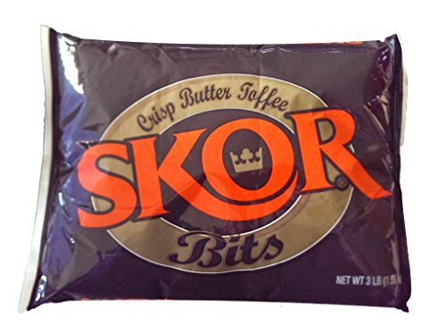 Skor Toffee Bits, 3-Pound (Pack of 4) ()