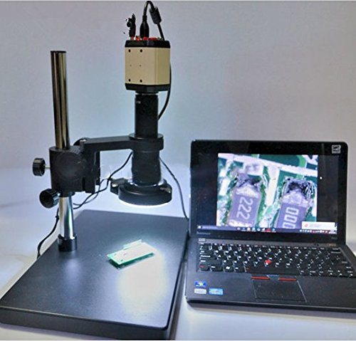 GOWE 2MP HD USB Digital Industry Video Microscope Camera Set + Table Stand + 180X C-MOUNT Lens+ 144 LED Light Review
