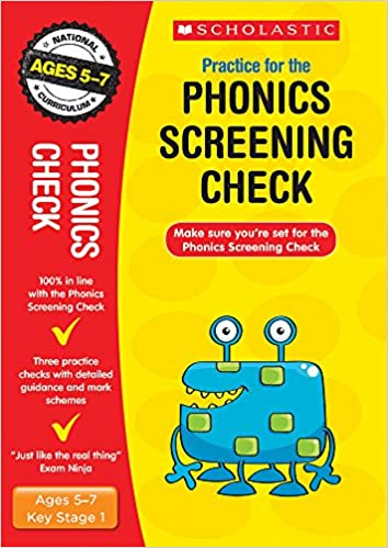 2019 Phonics Screening Check Practice Papers Scholastic