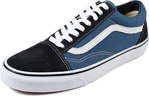 Vans Off The Wall Old Skool Sneakers (Navy) Unisex Skateboarding Shoes from Vans