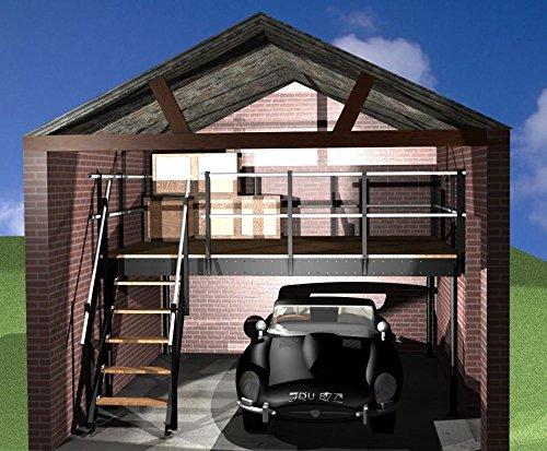 Soppalco ferro regolabile da a mq soppalco per garage