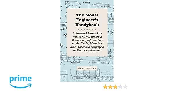 Metalworking Manuals, Books & Plans Cnc & Metalworking Supplies hasluck Model Engineer's Handbook