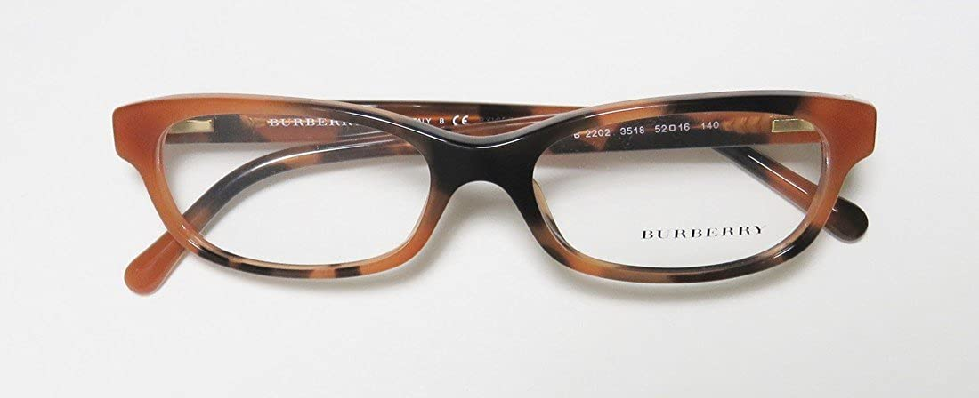 7b521a656b8b Eyeglasses Burberry BE 2202 3518 SPOTTED AMBER at Amazon Women s Clothing  store